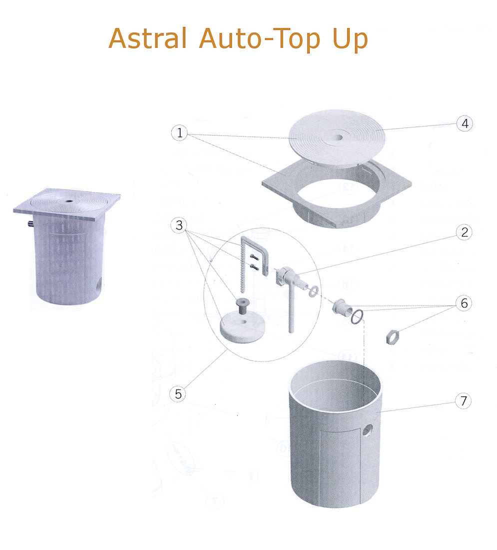 astral automatic pool top up spares. Black Bedroom Furniture Sets. Home Design Ideas