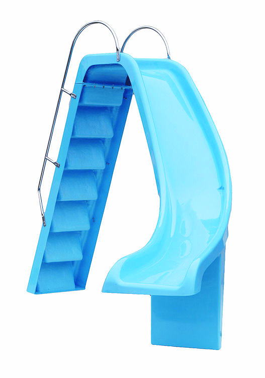Swimming Pool Right Hand Curved Slide Pool Slides