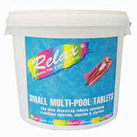 Relax Multi-Pool Chlorine Tablets - 20g