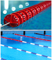 Certikin Swimming Pool Anti Wave Floating Lines