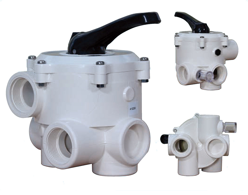Lacron 6 Way Swimming Pool Multiport Valves