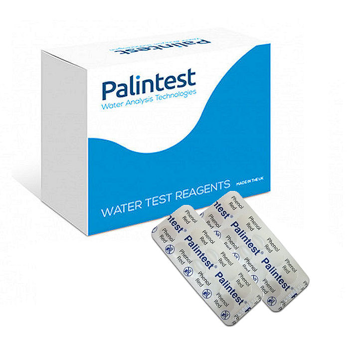 Palintest pH 50 Tablets Photometer Reagents Phenol Red